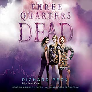 Three Quarters Dead audiobook cover art