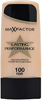 Max Factor Performance Long Lasting Foundation, No. 100 Fair, 1.1 Ounce