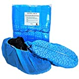 XL Disposable Boot Shoe Covers - Made for Extra Large Wide Shoes
