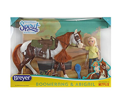 Exclusive Soft to the Touch Spirit Riding Free Abigail and Boomerang