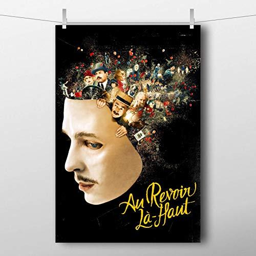QAZEDC Pintura Decorativa Nos vemos allá Arriba Movie Artwork Poster Canvas Impreso Wall Art Painting para la decoración de la habitación 60x80cm