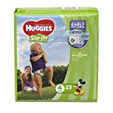 Huggies Little Movers Slip-On Diapers, Size 4, 23 Count