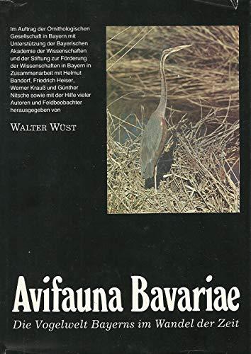 Avifauna Bavariae. Die Vogelwelt Bayerns Bd. 1., Gaviiformes Seetaucher bis Charadriiformes Wat-, Möwen- und Alkenvögel