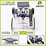 Premium STEM Toys for Boys and Girls - 4WD Solar Powered Educational Children's Toy Car For Kids - DIY Climbing Vehicle for Kids Age 8+ Creative Science Engineering Activities Kits for Children