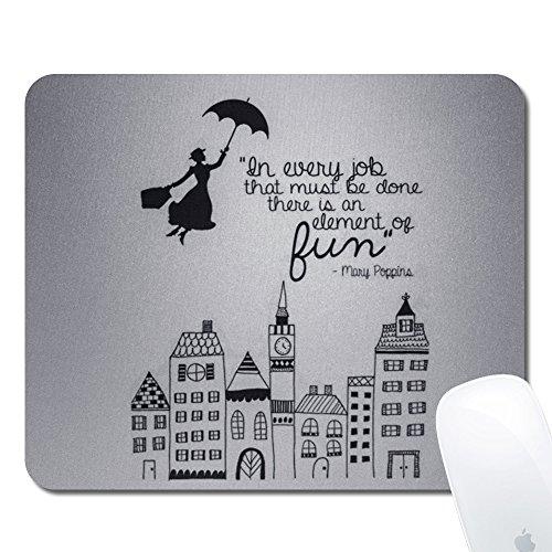 Onelee Tapis de Souris rectangulaire Disney Mary Poppins - Tapis de Souris de Jeu