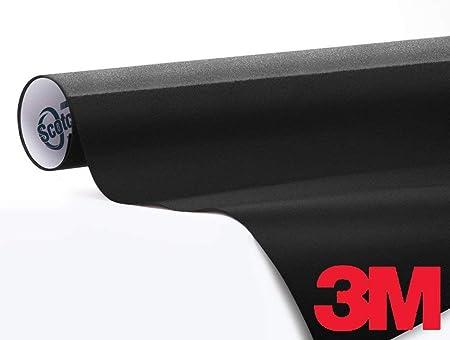 3m 1080 Gloss Black Air Release Vinyl Wrap Roll 1 2ft X 5ft Auto