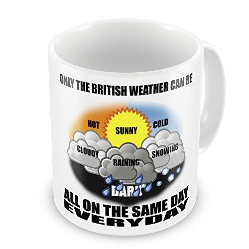 British Weather Funny Novelty Gift Mug