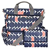Piglet Twin Changing Bag. This Large, Multifunctional Nappy Bag converts from a Cross