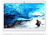 Tablet 10.1 inch Android Version,Tablet with 2GB+32GB, 3G Phone Tablets with Dual Sim Card & 2MP+ 5MP Dual Camera, Quad Core Processor, 1280x800 IPS HD Display,GPS, FM