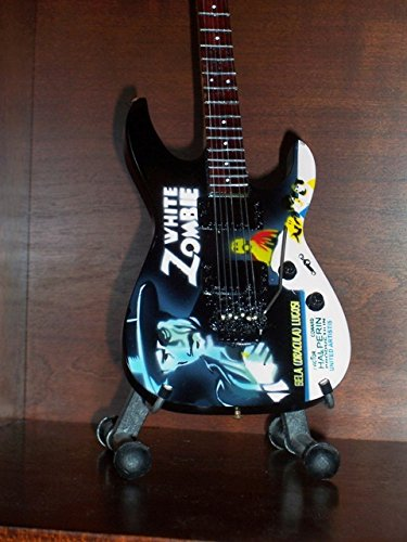 Mini Guitare METALLICA KIRK HAMMETT White Zombie Affichage Cadeau