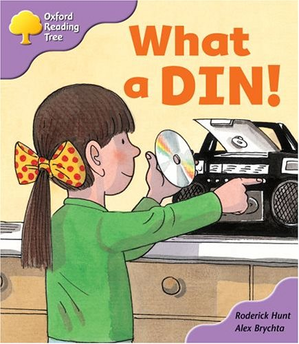 Oxford Reading Tree: Stage 1+: First Phonics: What A Din! (The Oxford Reading Tree)の詳細を見る