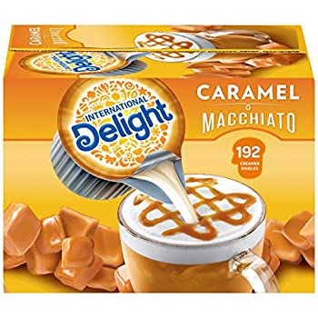 International Delight Coffee Creamer Singles Caramel Macchiato 192 Count