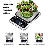 Zoom IMG-2 bilancia da cucina digitale intelligente