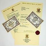 Planets For Sale Harry Potter Hogwarts Geschenk im Hogwarts-Stil - Angepasste Aufnahmemitteilung...