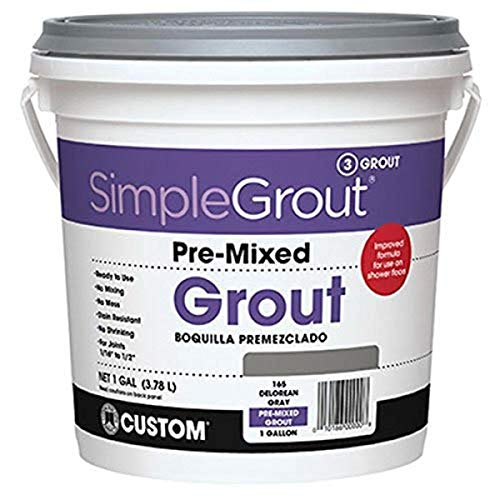 Custom PMG1221 1-Gallon Simple Premium Grout, Linen