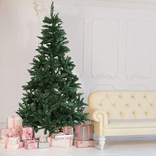 Olsen & Smith 180 cm 700 Puntas Pino Artificial árbol de Navidad