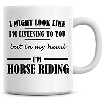 Keep Calm and Trot On White 10oz Novelty Mug Horse Riding Birthday Gift