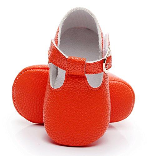 Orange Infant Shoes
