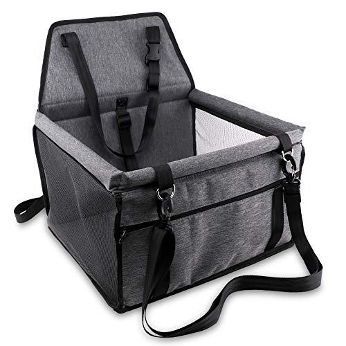 Petbobi Pet Reinforce Dog Car Seat for Dog Portable and...