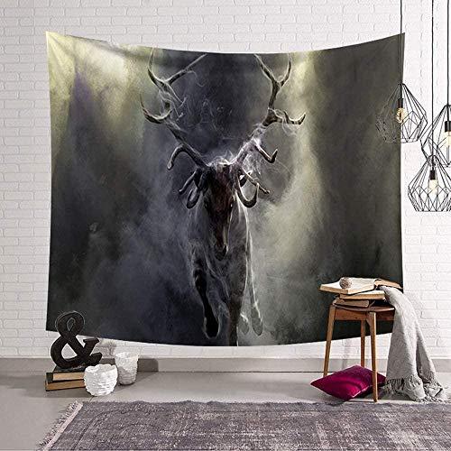 EDLSYDecoratie tapijt wandkleden beest kunst huis slaapkamer woonkamer wandtapijten (200 x 150 cm e)