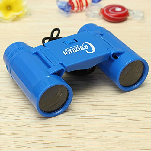 Toys ON Hills Amazing World Smallest Binocular Day & Night Use Polarized Folding Telescope for Kids II XXX Small Size II Blue Colour II- ( A Pack of 1 )