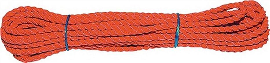 Multifunctioneel touw lengte 10m D: 10,0mm oranje