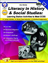 Literacy in History and Social Studies, Grades 6 - 8 (English Language Arts)