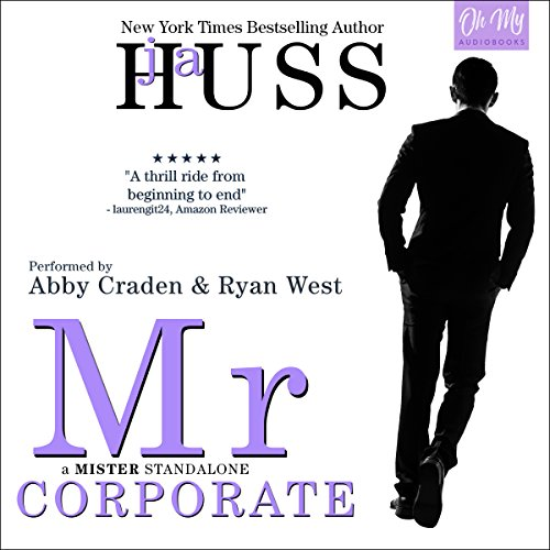 Mr. Corporate audiobook cover art