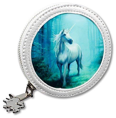 3D Fantasy-Münzgeldbörse mit Einhorn - Forest Unicorn | Geldbeutel, Mehrfarbig