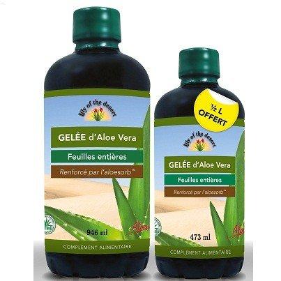 LILY OF THE DESERT promo Gelee aloé vera 946ml + 473 ml offert
