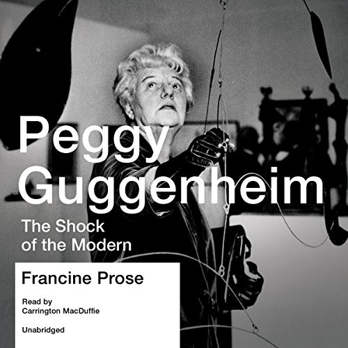 Peggy Guggenheim audiobook cover art