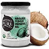 Best Raw Coconut Oils - Proudly Pure Virgin & Unrefined Cold-Pressed Coconut Oil Review