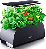 Hydroponics System Indoor Growing System with a Adjustable (5.9-12inchs) LED Grow Light Pole, Automatic Timer Hydrogarden for Home Kitchen