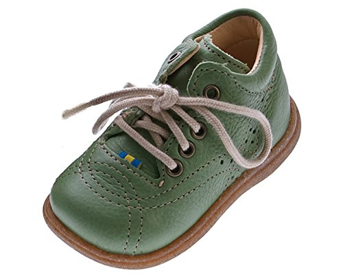 Kavat Kotte Leder Kinder Lauflernschuhe Grün Baby Schuhe Halbschuhe Gr. 20