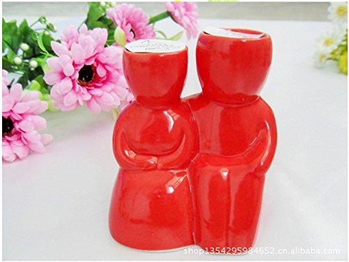 (4pcs / lot) cadeau du jour de valentine, MINI Potted herbe Graines Dernières herbe magique plantation, série de culture amants rouges