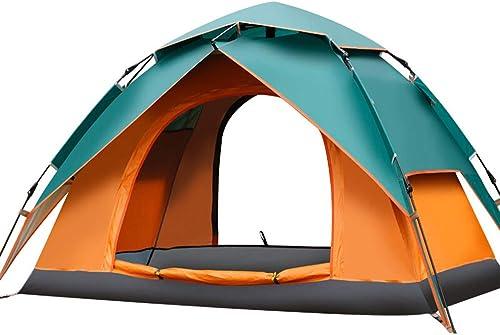 Tente de Camping de 2-3 Personnes Tente de randonnée, Tente de Sports en Plein air abris de Soleil de Camping InsTailletion Facile Voyage imperméable,vert
