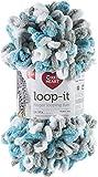 Red Heart Loop-It Yarn, Play It Cool
