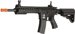 Lancer Tactical Airsoft LT-12BK AEG KeyMod 10-inch Polymer Edition - Black