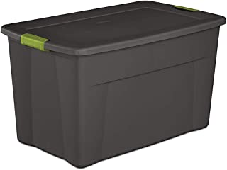 Hay Storage Bin 35 Gallon Storage Tote Box W/latching Container Lid Ideal for Organizing Clothing as the Seasons Change and Help to Keep Items Dust Free a Durable and Functional 32.5