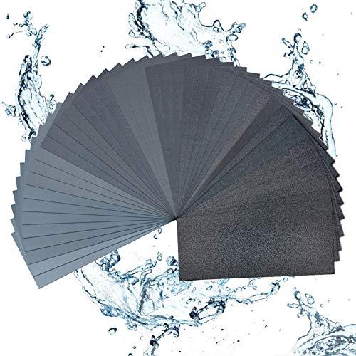 Osgow 42Pcs Sand Paper