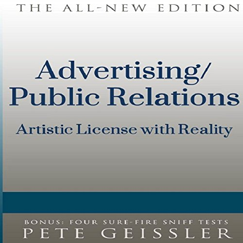 Advertising/Public Relations audiobook cover art
