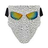 Lawnite Skull Airsoft Mask,Full Face Protective Paintball...