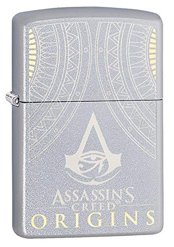 Zippo Sturmfeuerzeug Assassin\'s Creed, Origins, Chrom, reguläre Passform