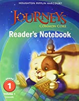 Journeys: Common Core Reader's Notebook Consumable Grade 1