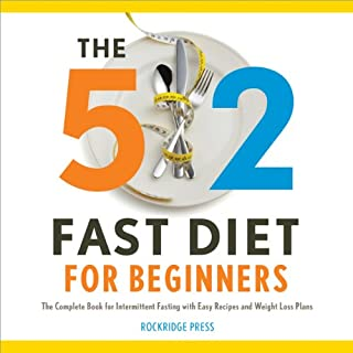The 5:2 Fast Diet for Beginners cover art