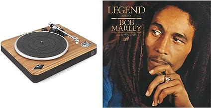 House of Marley Stir It Up Wireless Platine Vinyle sans Fil – Tourne-Disque Bluetooth - Matériaux Durable Bambou et Tissue...