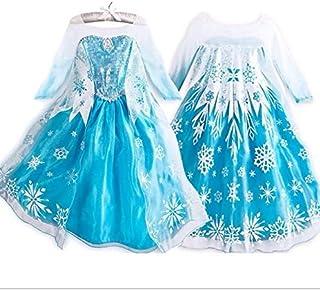 Blue dress costume for girls