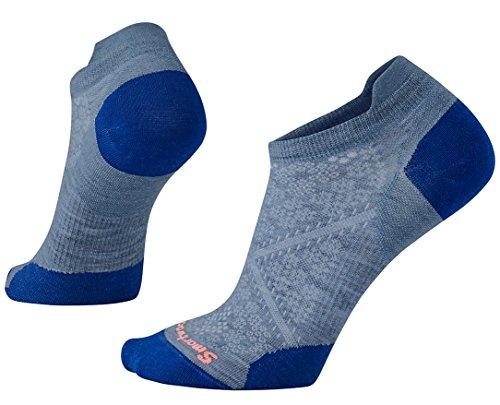 Smartwool Women's PhD Run Ultra Light Micro Socks (Blue Steel) Medium