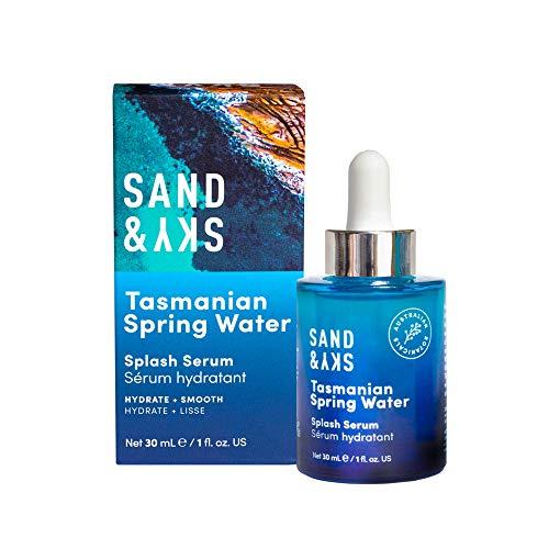 Sand & Sky Serum Splash mit tasmanischem Quellwasser - Serum mit Hyaluronsäure für das Gesicht - Gesichtsserum (30 ml)