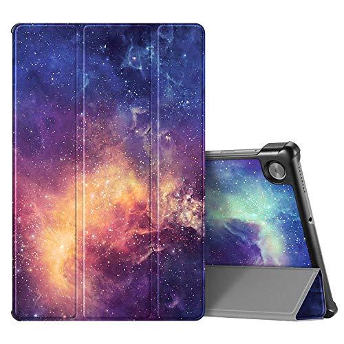 Fintie Hülle für Lenovo Tab M10 FHD Plus (2nd Gen), Ultradünne Superleicht Flip Case Cover mit Auto Schlaf/Wach Funktion und Ständer Funktion für Lenovo M10 Plus 10.3 Zoll TB-X606F, Galaxie
